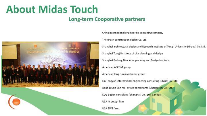Long-term Cooporative partners