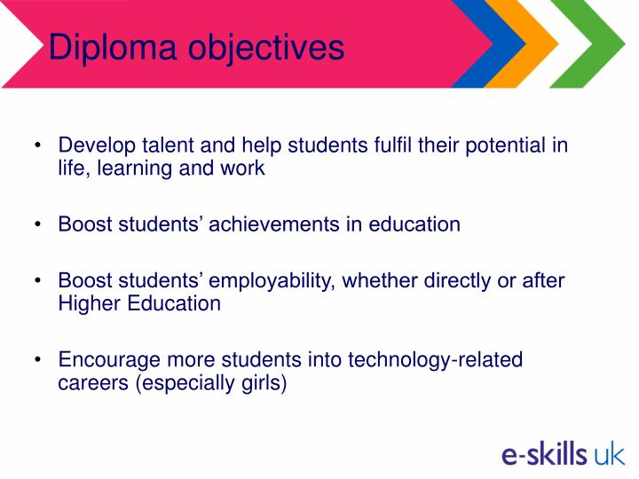 Diploma objectives