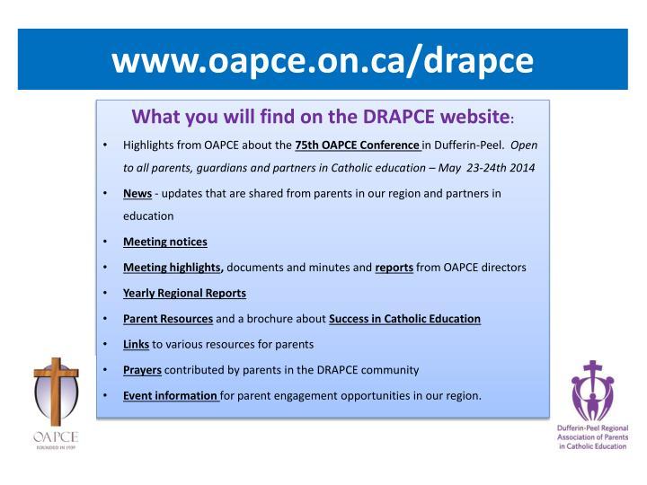 www.oapce.on.ca/drapce