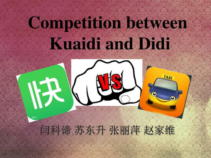 Competition between