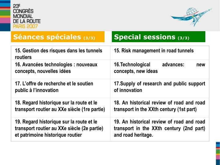 15. Gestion des risques dans les tunnels routiers