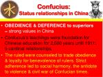 confucius status relationships in china