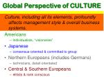 global perspective of culture