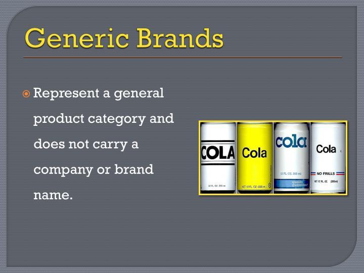 Generic Brands