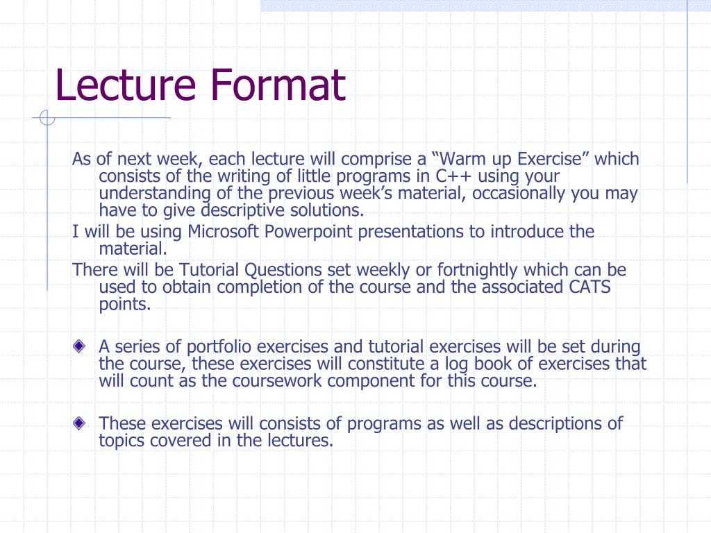 PPT - Introduction to OO Programming in C++ and Java