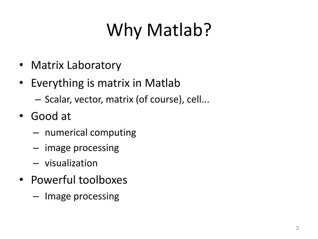 PPT - Lecture 2: Matlab tutorial PowerPoint Presentation