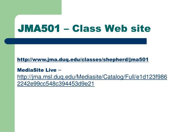 JMA501