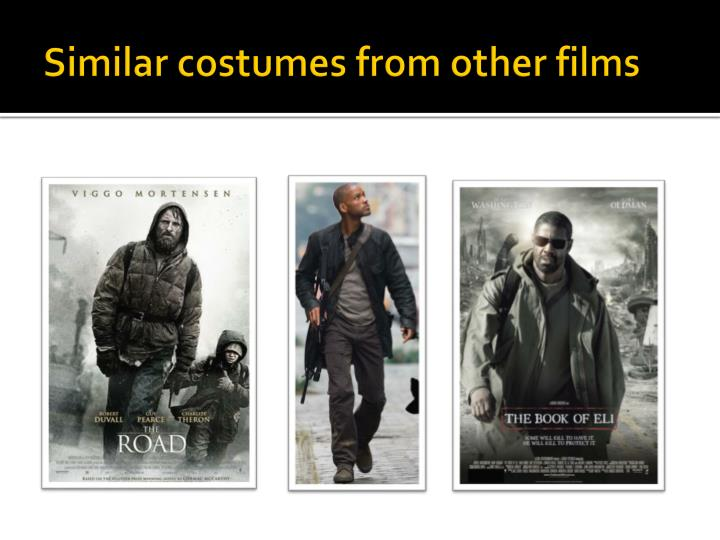 Similar costumes from other films
