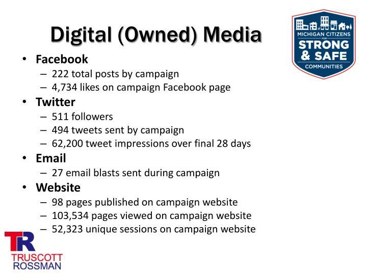 Digital (Owned) Media