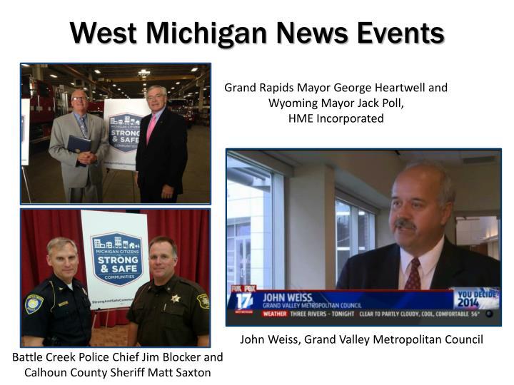 West Michigan News Events