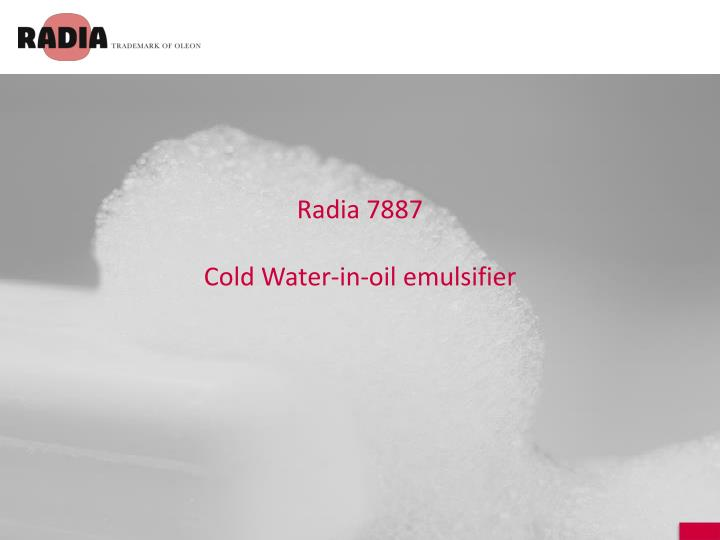 Radia 7887