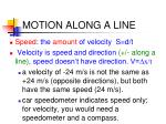 motion along a line5