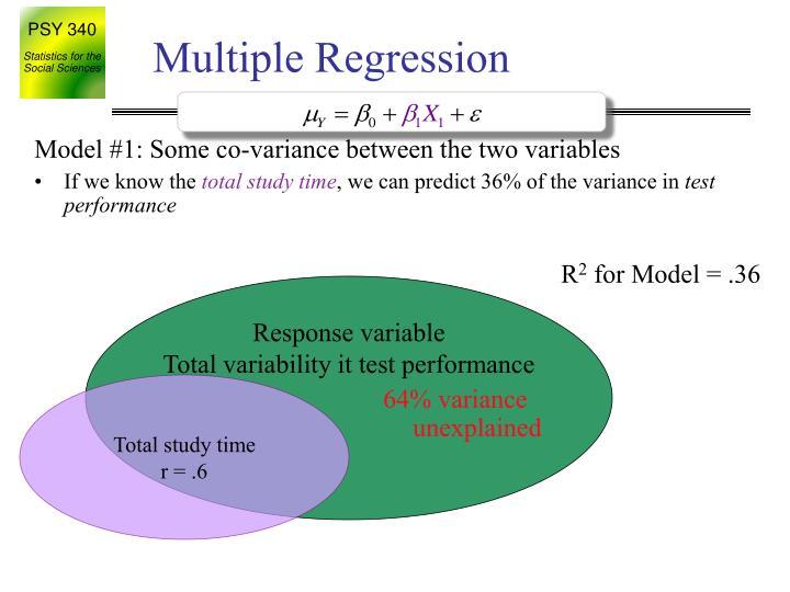 Response variable