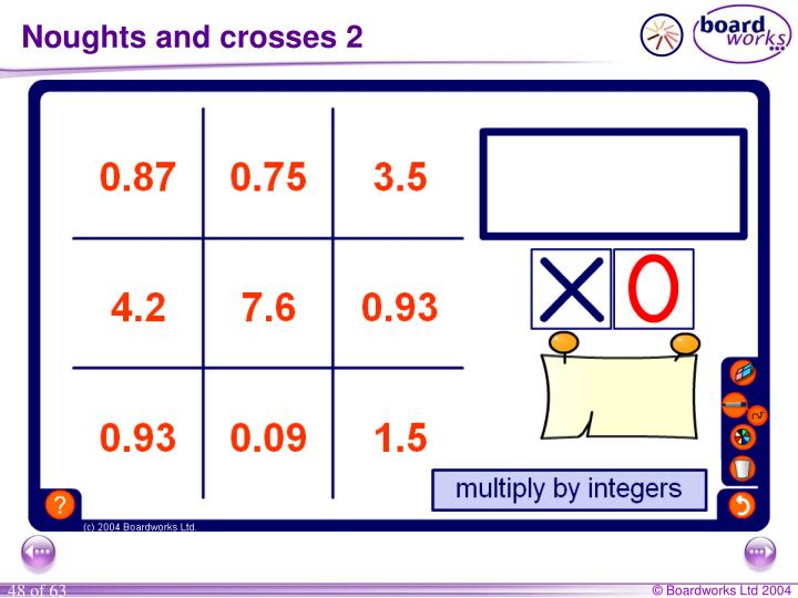 Noughts and crosses 2
