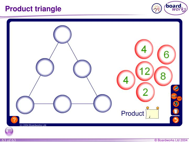 Product triangle