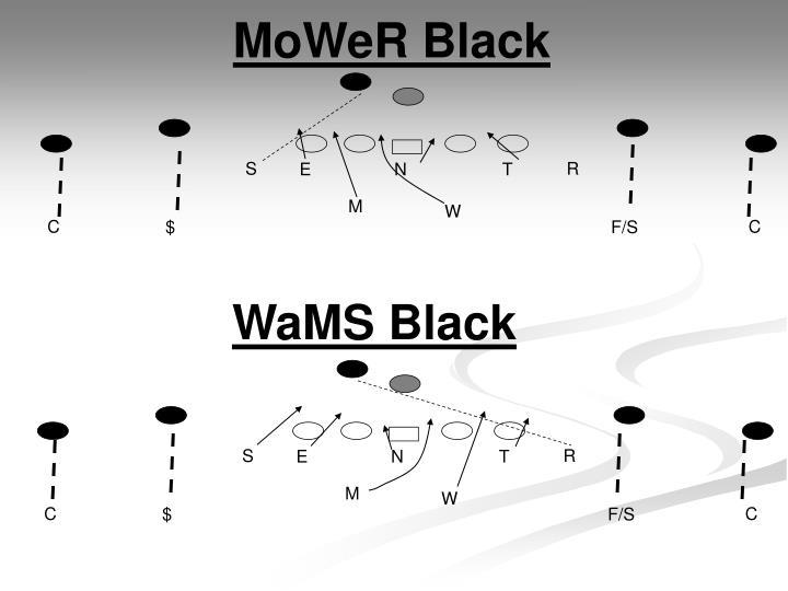 MoWeR Black