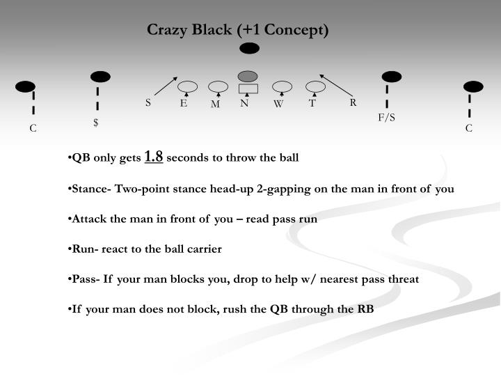 Crazy Black (+1 Concept)