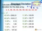 standard deviation2