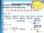standard deviation3