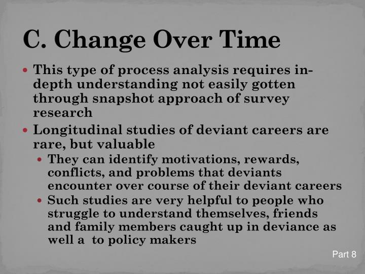 C. Change Over Time
