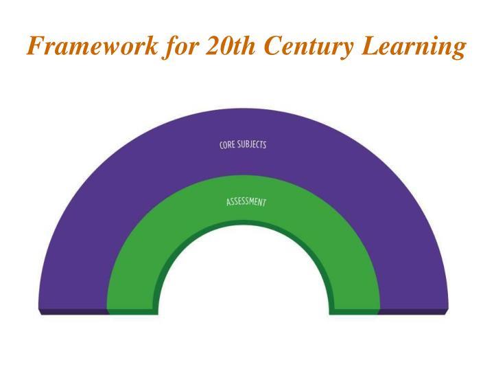 Framework for 20th Century Learning