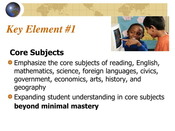 Key Element #1