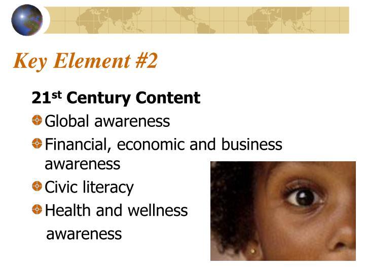 Key Element #2