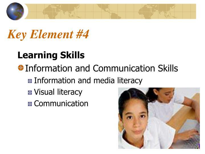 Key Element #4