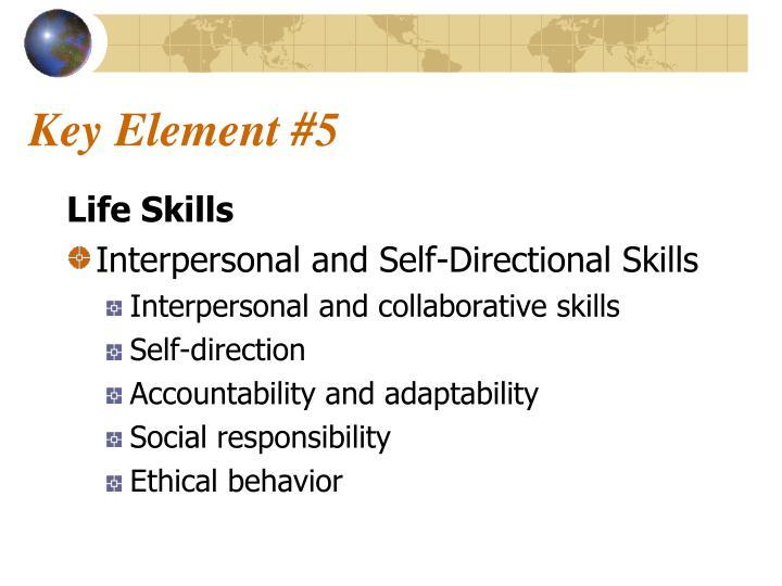 Key Element #5