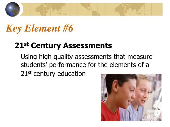 Key Element #6
