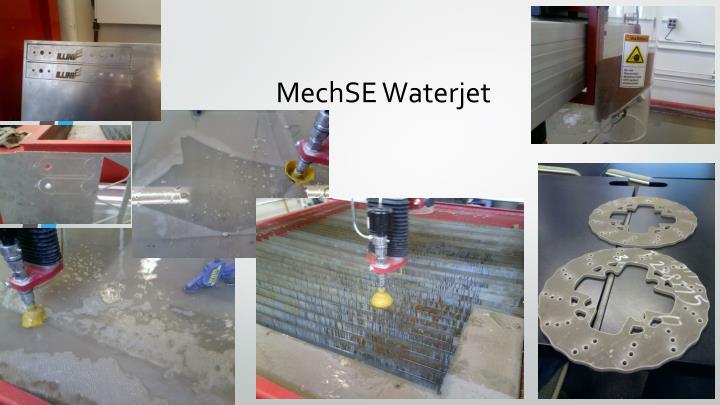 Mechse waterjet