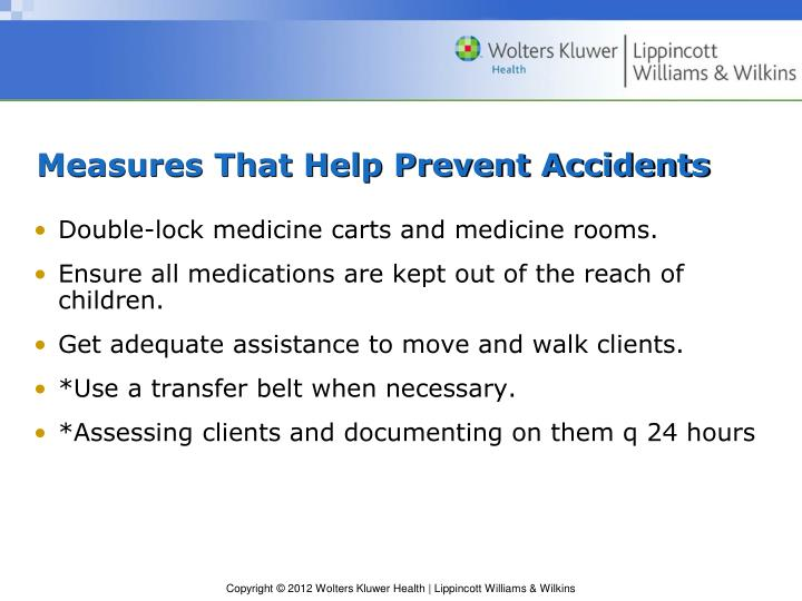 Measures That Help Prevent Accidents
