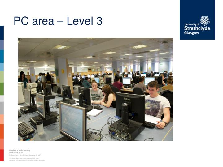 PC area – Level 3