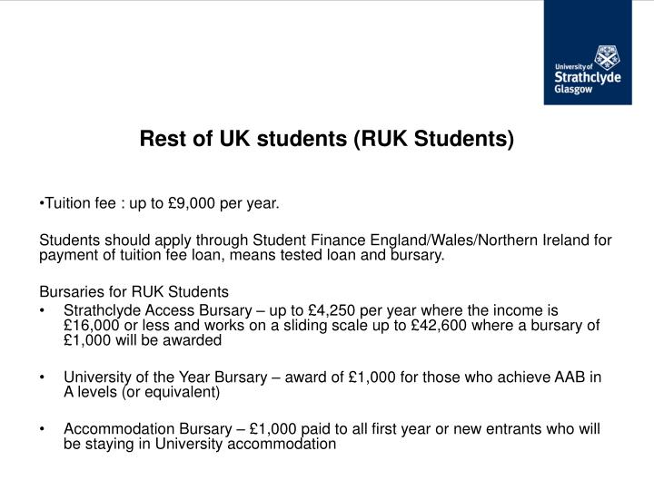 Rest of UK students (RUK Students)