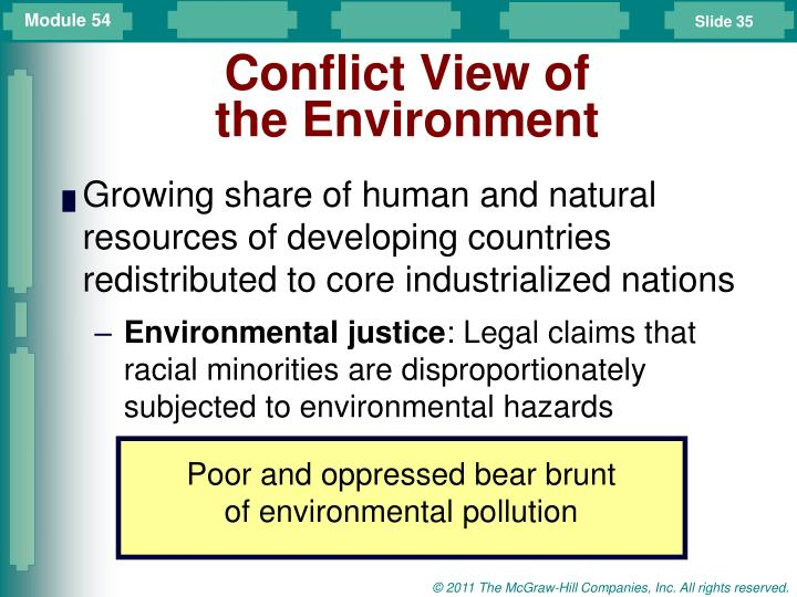 Conflict View of