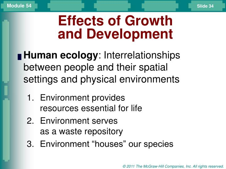 Effects of Growth