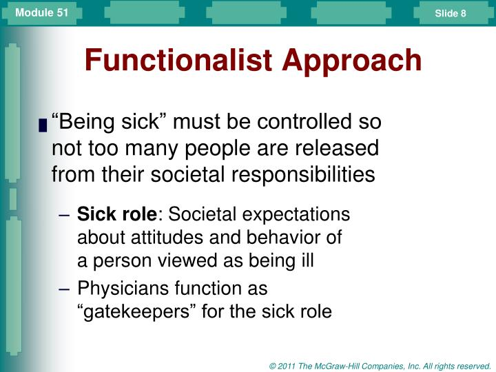 Functionalist Approach