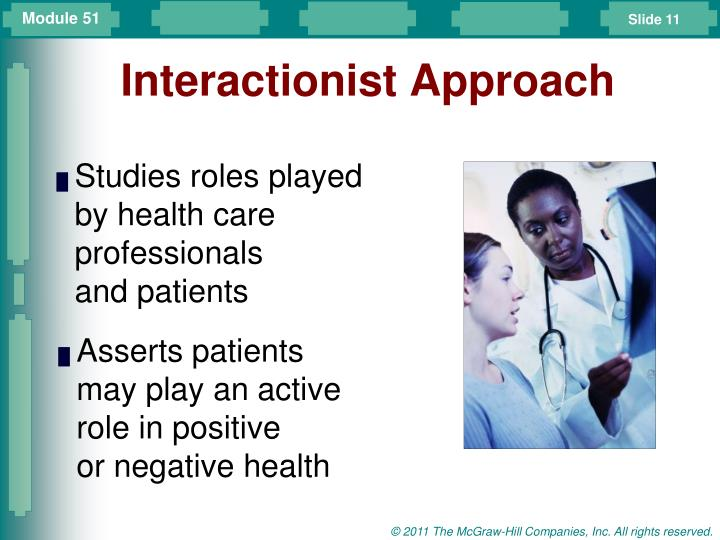 Interactionist Approach