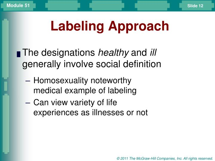 Labeling Approach