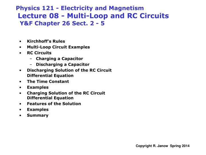 circuits with resistors follow kirchhoffs rules but
