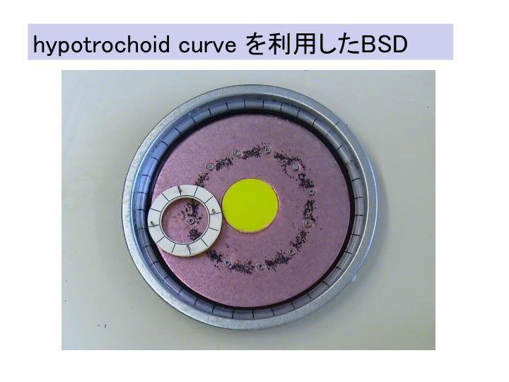 hypotrochoid curve