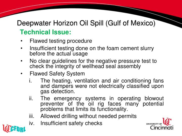 Deepwater Horizon Oil Spill (Gulf of Mexico)