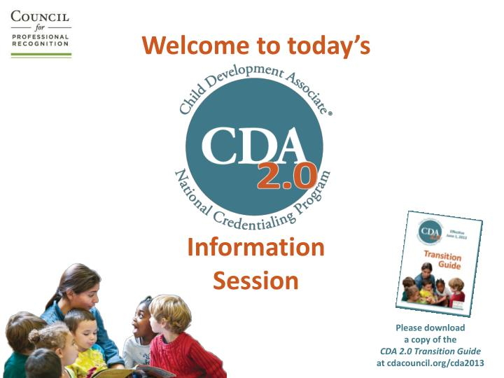 welcome to today s information session