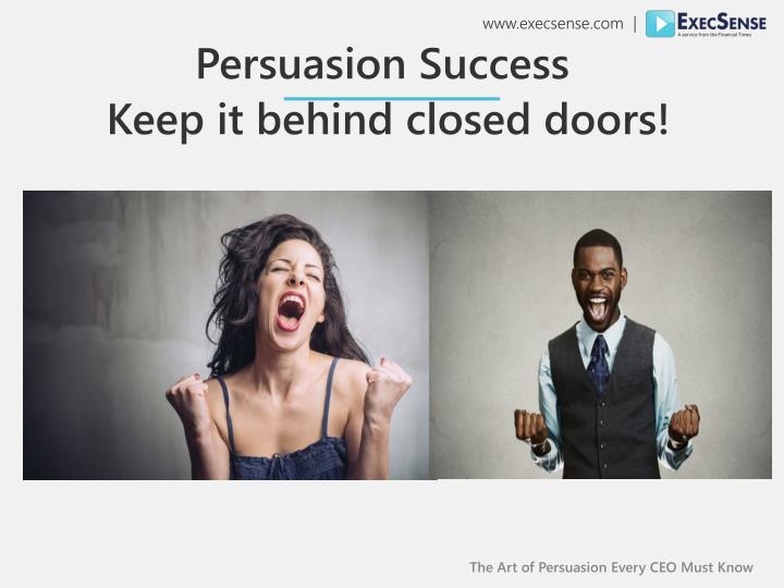 The Art of Persuasion Every CEO Must Know