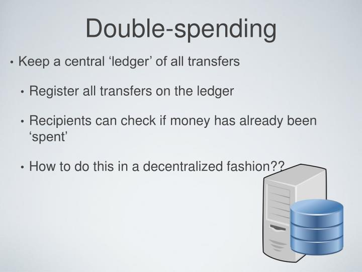 Double-spending