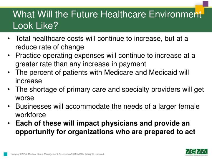 What Will the Future Healthcare Environment Look Like?