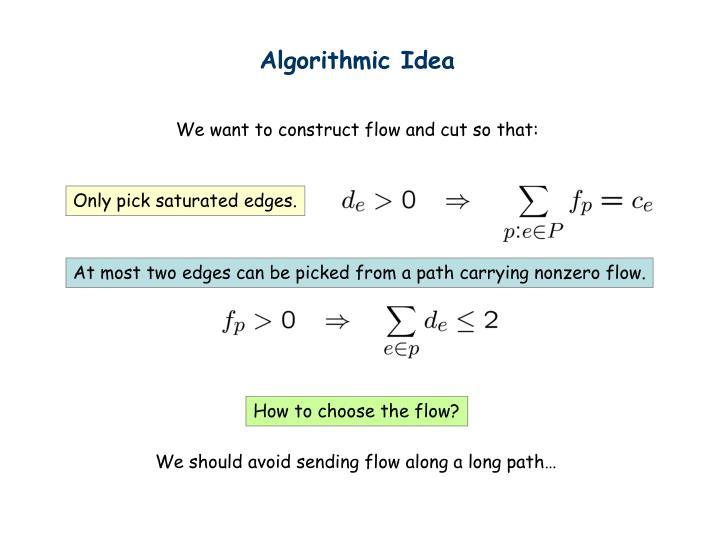 Algorithmic Idea
