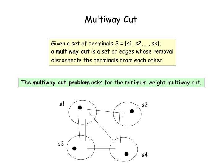 Multiway Cut