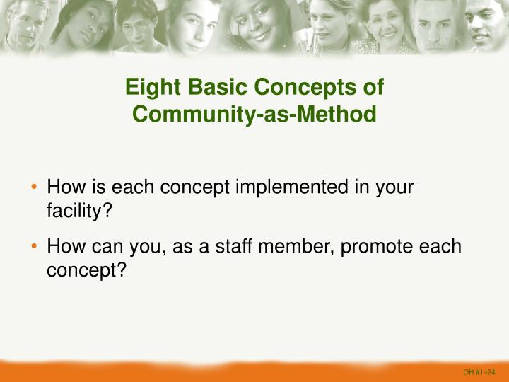 Eight Basic Concepts of