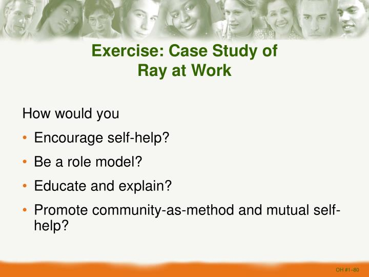 Exercise: Case Study of